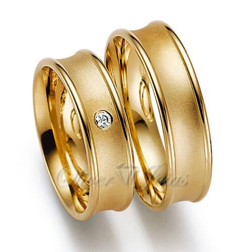 Aliança de ouro casamento e noivado Roseira