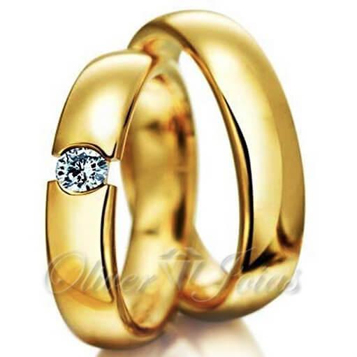 417e8e7da31 Aliança de noivado e casamento 18kl Maringá